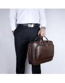 Фотография Стильный кожаный портфель на каждый день 77005Q