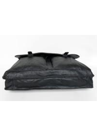 Кожаный гладкий мужской портфель 77013A-1