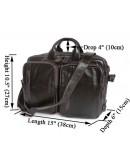 Фотография Кожаный портфель-рюкзак трансформер 77014Q-2