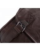 Фотография Мужская сумка на плечо, коричневая кожаная 7022C-2