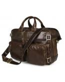 Фотография Удобная коричневая сумка-рюкзак на каждый день 77026C