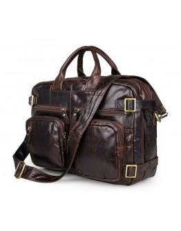 Универсальный портфель-рюкзак из восхитительной кожи 77026Q-1