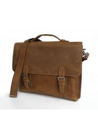 Модный портфель из винтажной лошадиной кожи 77035b1