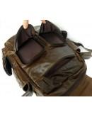 Фотография Компактный коричневый мужской стильный рюкзак 77038