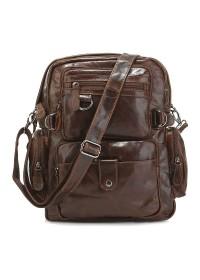 Добротный мужской рюкзак из натуральной кожи 77042Q