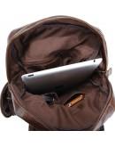 Фотография Добротный мужской рюкзак из натуральной кожи 77042Q