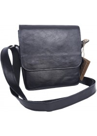 Мужская кожаная сумка на плечо с клапаном 70445-SGE
