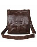 Фотография Шикарная кожаная сумка на плечо 77045