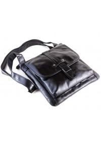Черная модная кожаная мужская сумка на плечо, лидер продаж 77045A