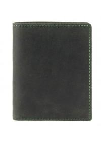 Зеленый мужской кошелек Visconti 705 Arrow (Oil Green)