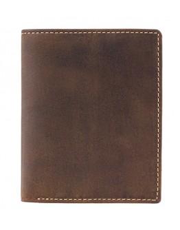 Коричневый небольшой кошелек Visconti 705 Arrow (Oil Tan)