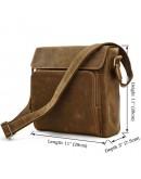 Фотография Шикарная сумка на плечо из лошадиной кожи 77051