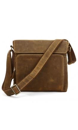 Шикарная сумка на плечо из лошадиной кожи 77051