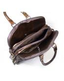 Фотография Функциональная мужская кожаная сумка на плечо и в руку 77059