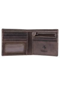 Темно-коричневый кошелек Visconti 707 Shield (Oil Brown)