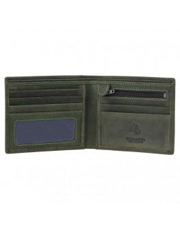 Темно-зеленый кошелек Visconti 707 Shield (Oil Green)