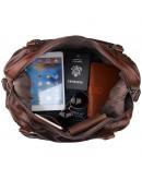 Фотография Шикарная дорожная сумка из натуральной телячьей кожи 77071С