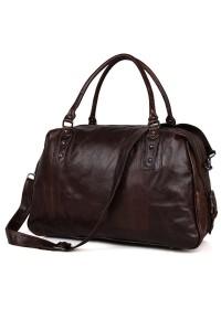Шикарная дорожная сумка из натуральной телячьей кожи 77071С
