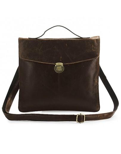 Фотография Кожаная сумка под I-pad или под другой планшет 77073