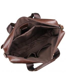 Удобная кожаная повседневная сумка 77075