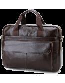 Фотография Удобная повседневная мужская кожаная сумка Cross 7076