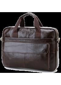 Удобная повседневная мужская кожаная сумка Cross 7076