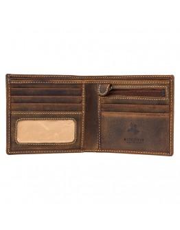 Маленький рыжий кошелёк Visconti 707 - Shield (Oil Tan)