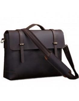 Винтажный кожаный портфель из телячьей кожи 77082R1