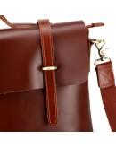 Фотография Стильная винтажная мужская сумка из качественной кожи 77082B