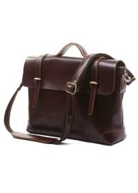 Потрясающий винтажный кожаный портфель 77082X
