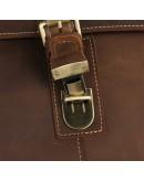 Фотография Большая и вместительная сумка из лошадиной кожи на плечо 77084lr