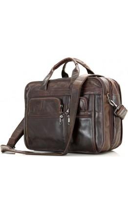 Большая кожаная мужская сумка, городская 77093Q