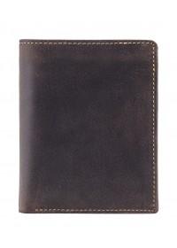 Темно-коричневый кожаный кошелек Visconti 709 Rifle (Oil Brown)