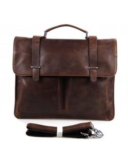 Кожаный мужской деловой портфель 77100B