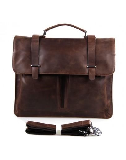 Фотография Кожаный мужской деловой портфель 77100B