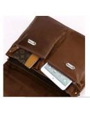 Фотография Мужской кожаный портфель из телячьей кожи 77100B-1