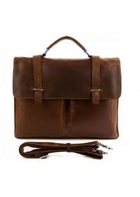Мужской кожаный портфель из телячьей кожи 77100B-1
