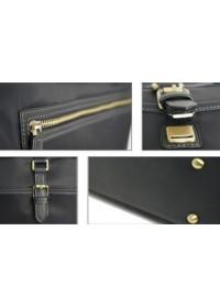 Тканевый синий мужской портфель 71010301bu