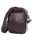 Фотография Коричневая сумка на плечо мужская городская 71012C