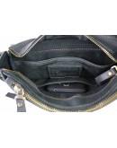 Фотография Кожаная черная мужская классическая сумка на плечо 710240-SKE