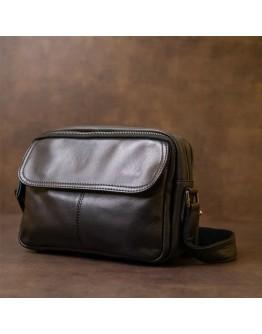 Мужская кожаная сумка с плечевым ремнем 71026A