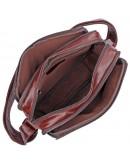 Фотография Коричневая мужская сумка кожаная на плечо 71026c