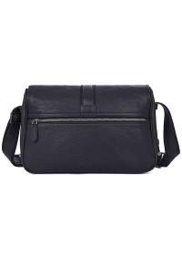 Мужская сумка через плечо большая черная 71030a
