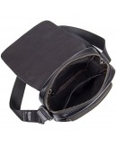 Фотография Кожаная мужская сумка, барсетка вертикальная 71031a