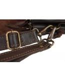 Фотография Коричневая мужская удобная барсетка-клатч 7103222-SKE