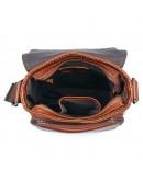 Фотография Коричневая сумка на пояс мужская 71033X
