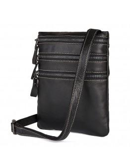 Мужская сумка на плечо, черная повседневная 71034a