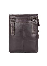 Мужская сумка на плечо, коричневая повседневная 71034q