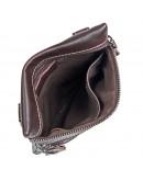 Фотография Мужская сумка на плечо, коричневая повседневная 71034q