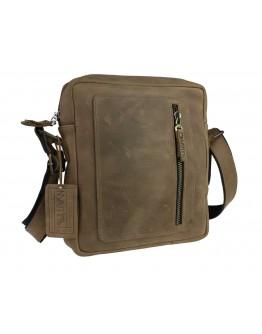 Мужская кожаная сумка на плечо без клапана 710427-SKE